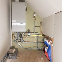 installatie gasketel